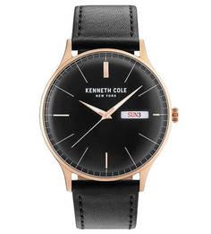 Кварцевые часы с функцией даты Classic Kenneth Cole