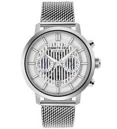 Часы с люминесцентными стрелками Dress Sport Kenneth Cole