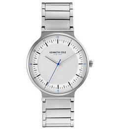 Влагоустойчивые часы с металлическим браслетом CLASSIC Kenneth Cole