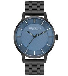 Часы с черным металлическим браслетом CLASSIC Kenneth Cole