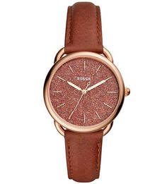 Часы с блестящим циферблатом Tailor Fossil