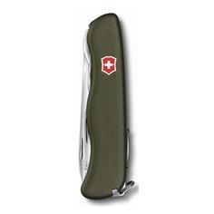 Складной нож VICTORINOX Forester, 12 функций, 111мм, зеленый [0.8363.4r]