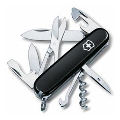 Складной нож VICTORINOX Climber, 14 функций, 91мм, черный [1.3703.3]