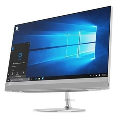"Моноблок LENOVO IdeaCentre 520-22IKU, 21.5"", Intel Core i3 6006U, 4Гб, 1000Гб, AMD Radeon 530 - 2048 Мб, DVD-RW, Windows 10, серебристый [f0d5002vrk]"