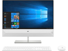 Моноблок HP Pavilion 24-xa0003ur 4UJ02EA Snowflake White (Intel Core i3-8100T 3.1 GHz/4096Mb/1000Gb/DVD-RW/Intel HD Graphics/Wi-Fi/23.8/1920x1080/Windows 10 64-bit)