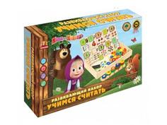 Игрушка Буратино Маша и Медведь Развивающий набор HLJ171211-10-R