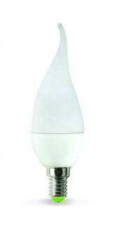 Лампочка ASD LED Свеча на ветру Standard E14 5W 4000K 160-260V 4690612004525