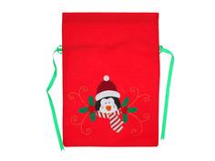 Новогодний сувенир СИМА-ЛЕНД Мешок для подарков Новогодний пингвин 3467064