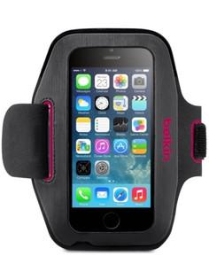 Аксессуар Чехол для APPLE iPhone 6 Belkin Slim-Fit ArmbandF8W500BTC01 Dark Gray-Pink