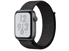 Умные часы APPLE Watch Nike+ Series 4 44mm Space Grey Aluminium Case with Black Nike Sport Loop MU7J2RU/A