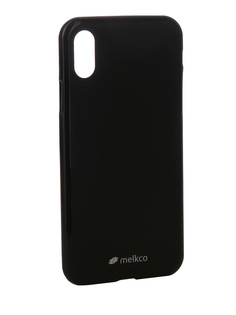Аксессуар Чехол Melkco TPU Matt Black для APPLE iPhone X 15385