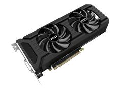 Видеокарта Palit GeForce GTX 1060 Gaming Pro 1531Mhz PCI-E 3.0 6144Mb 8800Mhz 192 bit DVI HDMI DP NEB1060U15J9-1045D