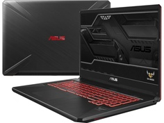 Ноутбук ASUS ROG FX705GM-EW152T Black 90NR0121-M03280 (Intel Core i7-8750H 2.2 GHz/8192Mb/1000Gb+128Gb SSD/nVidia GeForce GTX 1060 6144Mb/Wi-Fi/Cam/17.3/1920x1080/Windows 10 64-bit)