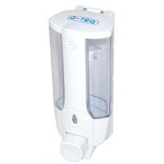 Дозатор для жидкого мыла g-teq 8617 белый