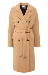 Двубортное пальто с поясом Tommy Hilfiger