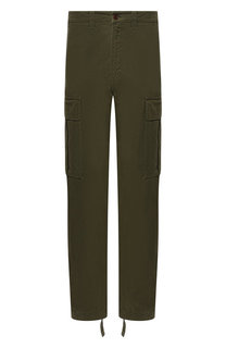 Хлопковые брюки-карго Acne Studios