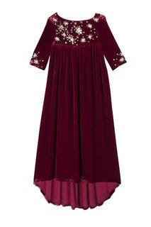 Платье красное JOLIE Bonpoint