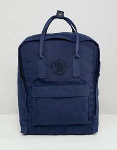 Темно-синий рюкзак Fjallraven Re-Kanken 16 л - Синий