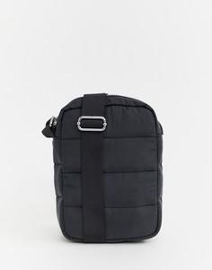 Черная сумка через плечо Weekday Piff - Черный