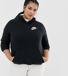 Черный худи Nike Plus rally - Черный