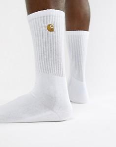 Белые носки Carhartt WIP Chase - Белый