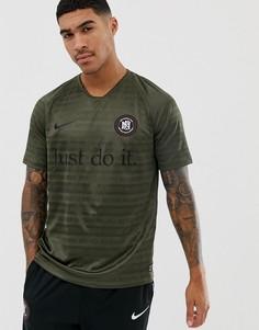 Зеленая футболка Nike FC Football - Зеленый