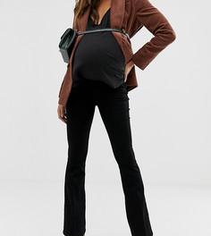 Черные расклешенные джинсы ASOS DESIGN Maternity - Черный