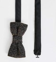 Коричневый шерстяной галстук Heart & Dagger - Коричневый