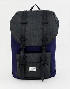 Темно-синий рюкзак Herschel Supply Co Little America 25 л - Темно-синий