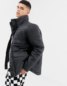 Стеганая куртка с воротником-труба Another Influence - Черный