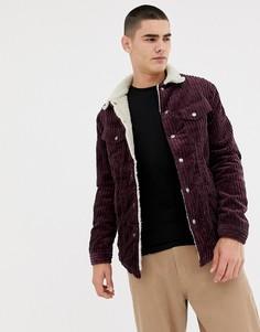 Вельветовая куртка Nudie Jeans Co Lenny - Фиолетовый