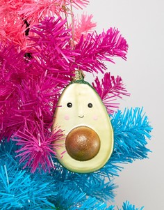 Новогоднее елочное украшение в виде авокадо Sass & Belle - Мульти