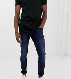 Темные джинсы скинни G-Star Revend - Синий