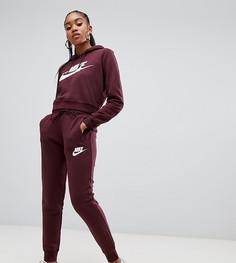 Свободные спортивные штаны с логотипом Nike - Красный