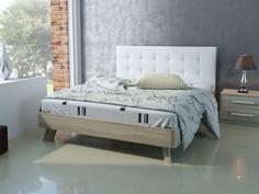 Кровать №69 (серия МК 44) Спинка мягкая №1 Корвет