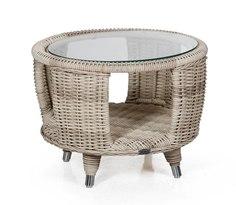 Плетеный стол Evita-Silva beige Brafab
