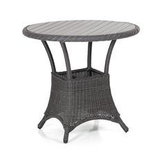 Плетеный стол Magda-2 grey Brafab