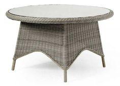 Плетеный стол Paulina-1 Brafab