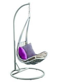 Подвесное кресло из ротанга Leaf Joygarden