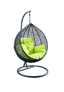Подвесное кресло из ротанга Bazu Joygarden