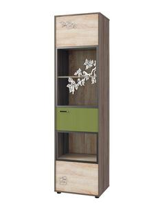 Шкаф для книг №123 МДК 4.14 Корвет