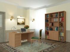 Кабинет-библиотека Премьер-4 Баронс Групп