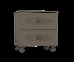 Тумба прикроватная Ассоль Плюс АС-4 Компасс