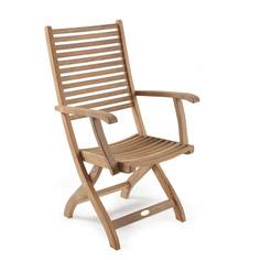 Кресло из тика Calcutta-1 Brafab