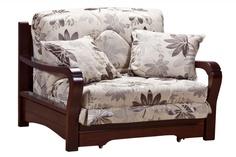 Кресло-кровать Женева с деревянными подлокотниками Фиеста