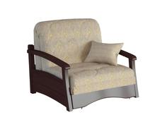 Кресло-кровать Профит с деревянными подлокотниками Фиеста