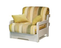 Кресло-кровать Капелла с деревянными подлокотниками Фиеста