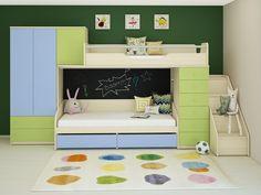 Детская двухъярусная кровать Н-2 BMS