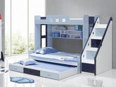 Детская двухъярусная кровать ДМ-166 BMS