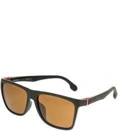 Солнцезащитные очки в оправе цвета хаки Carrera